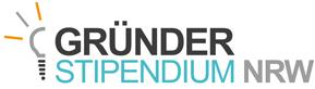 Logo vom Gründerstipendium NRW